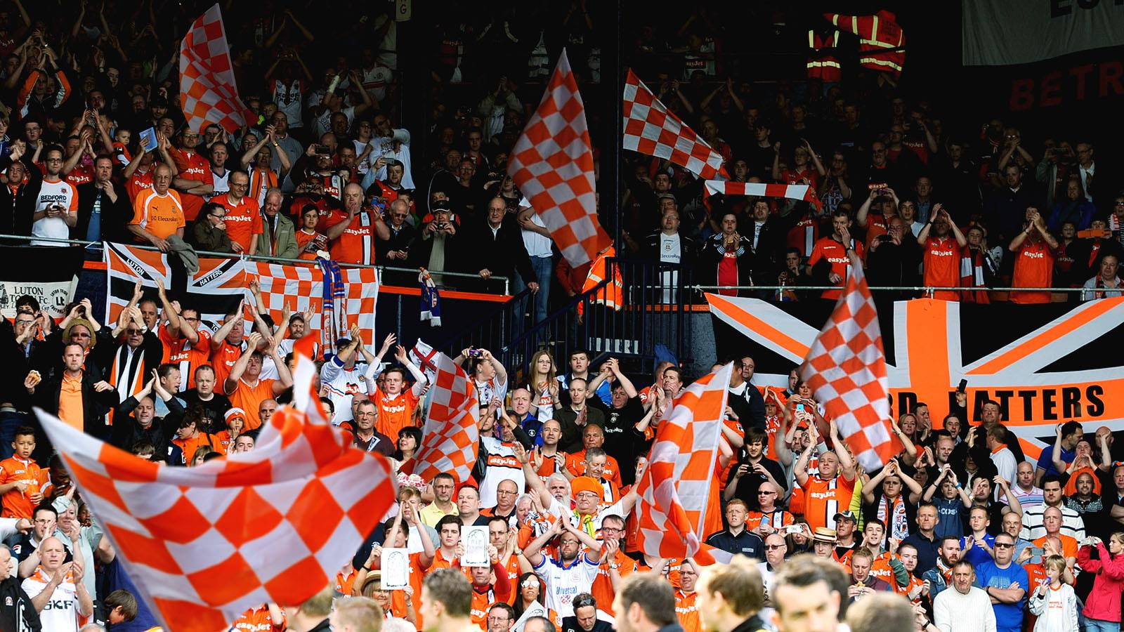 Bring A Flag To Wave The Boys Wembley Way News Luton Town