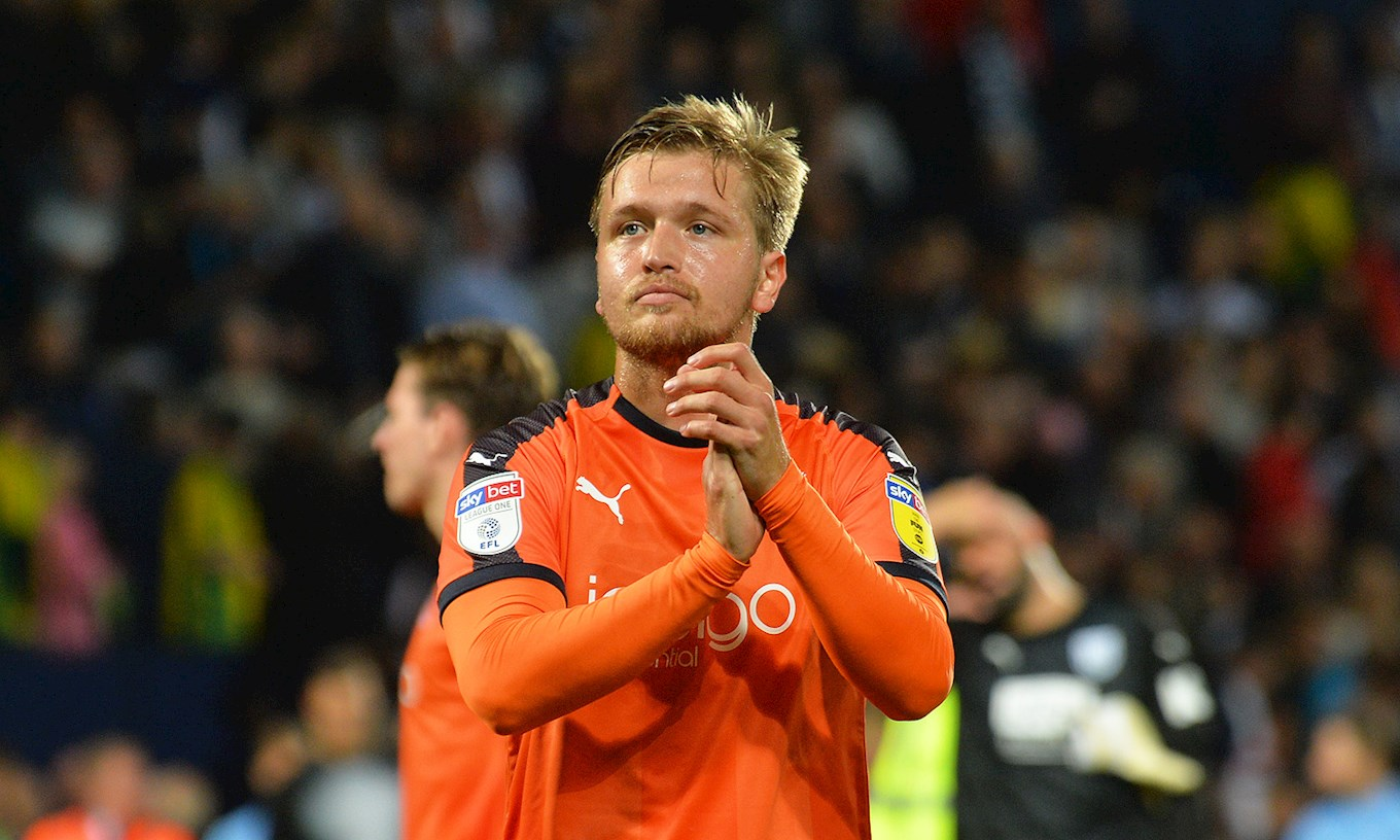 Luke Berry made his comeback from injury in the Carabao Cup defeat at West Brom