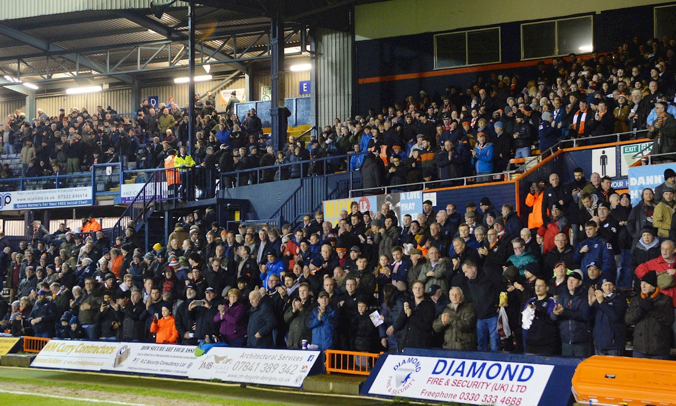 DONCASTER NOW A SELL OUT IN HOME SECTIONS! - News - Luton Town