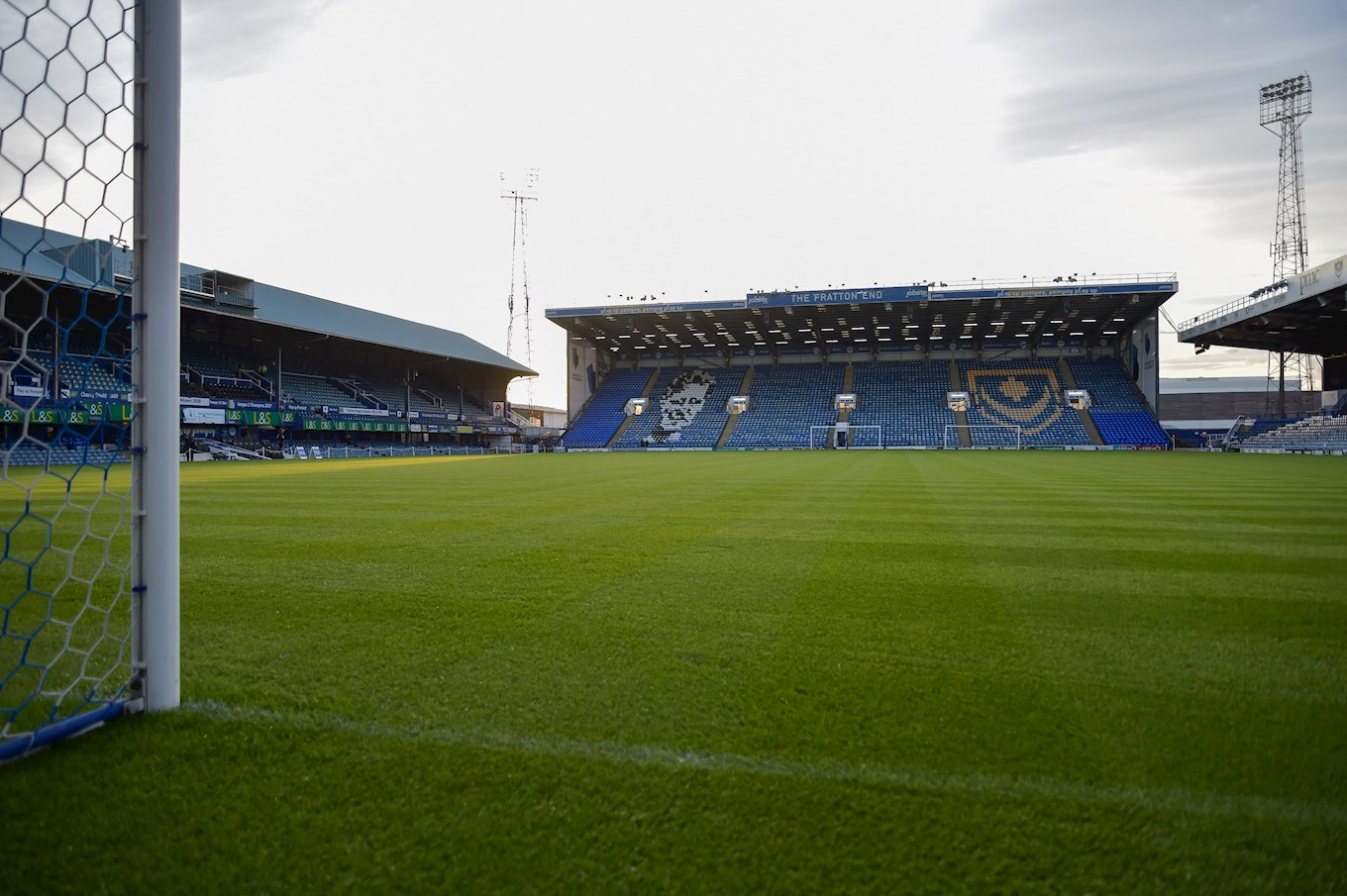 Fratton Park, Portsmouth - where the Hatters will kick-off the 2018-19 season on August 4th