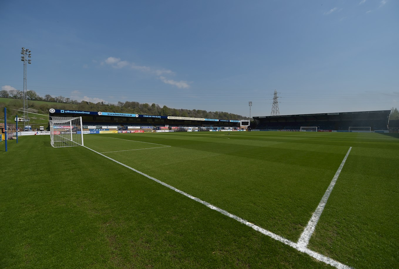 Wycombe's home ground, Adams Park