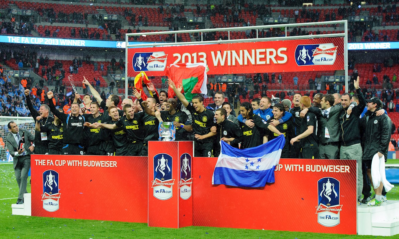 Wigan Athletic - FA Cup winners 2013