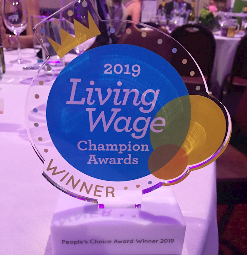 Living Wage Award