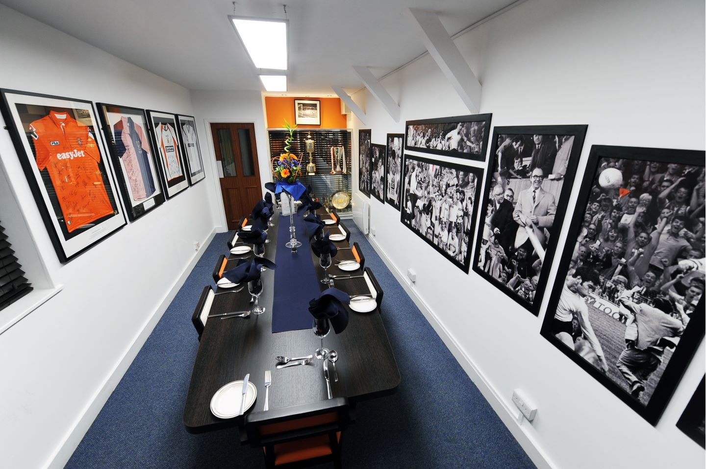 Trophy Room Hospitality At Kenilworth Road Luton Town