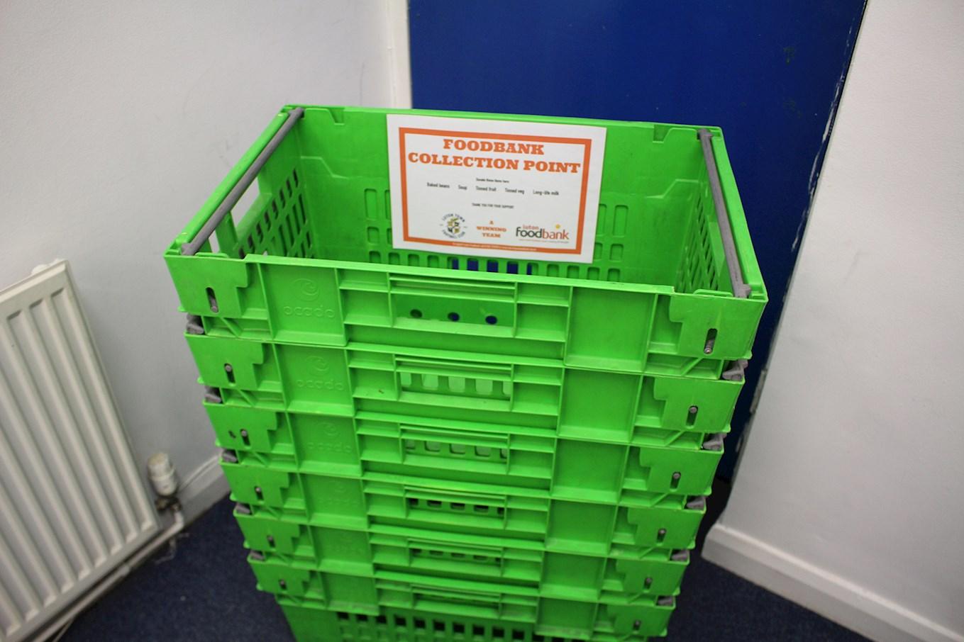 Help Us Collect Food For Luton Foodbank News Luton Town