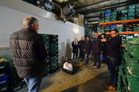 Hatters Staff Volunteer At Luton Foodbank News Luton Town