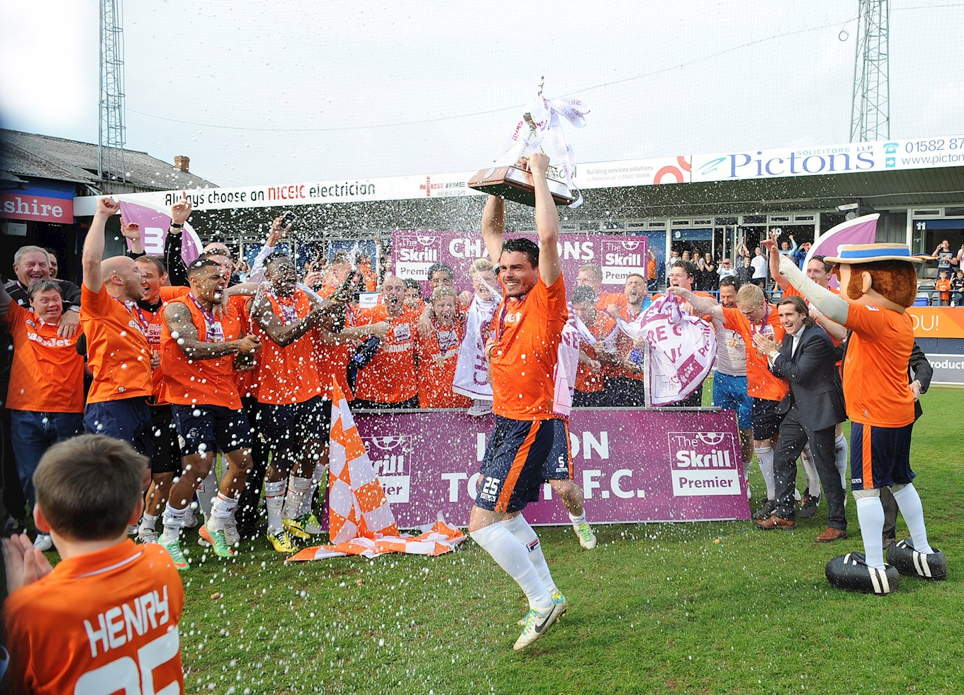 Seeing the Hatters lift the Conference title to win back the cherished place in the Football League was sweet for chairman Nick Owen