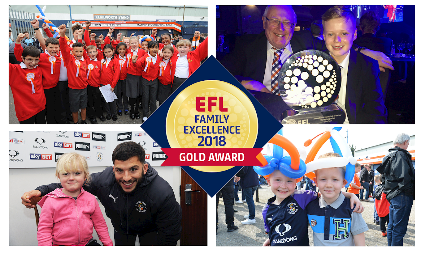 THE HATTERS ARE ONE OF TEN CLUBS TO WIN EFL 'GOLD AWARD ...