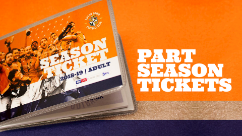 Part season tickets