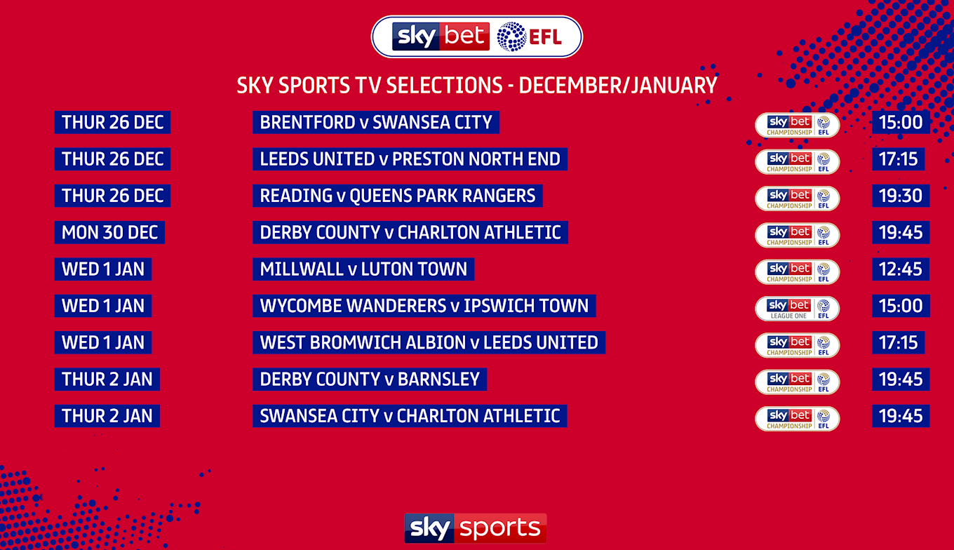 EFL - Sky Sports TV Selections - December - January.png