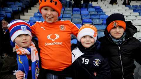 Families at Luton Town