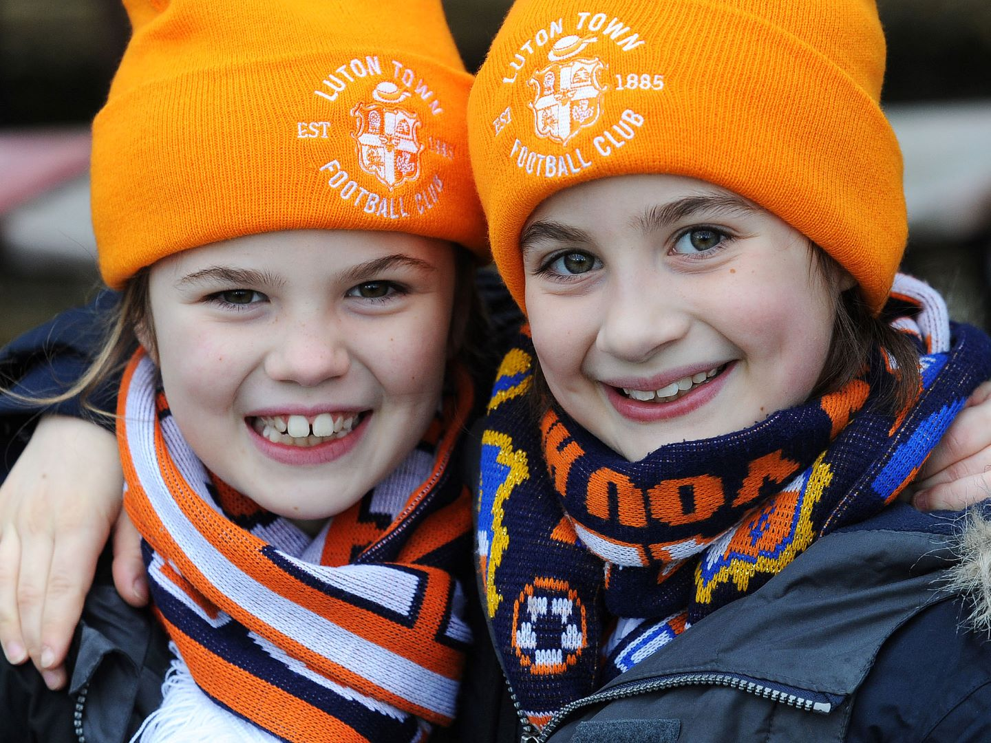 Junior Hatters in their official Hatters wear