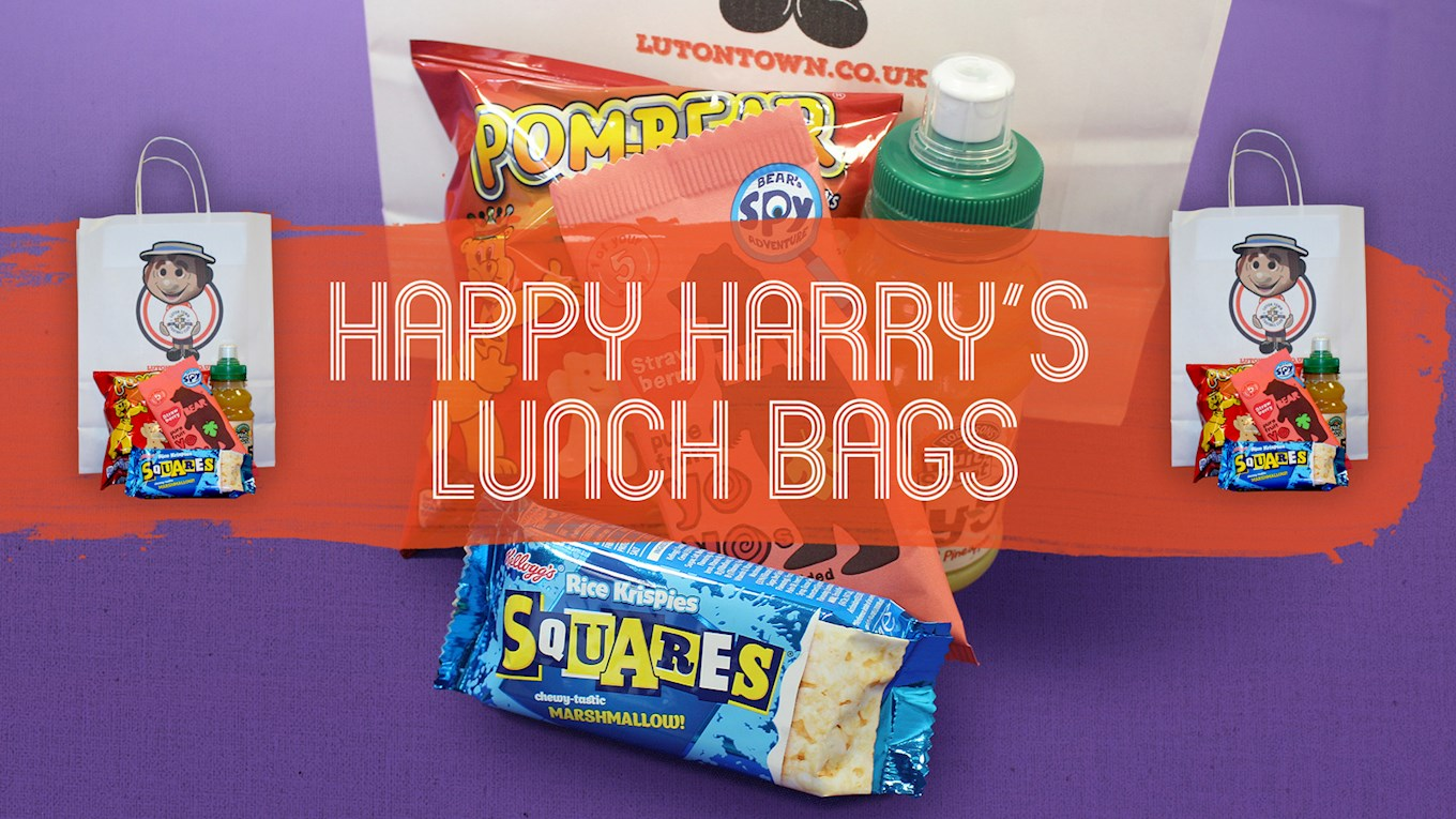 Happy Harry 39 S Lunch Bag Luton Town